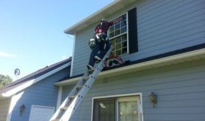 Second Story Window Cleaning