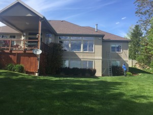 Residentail Layton home window cleaning