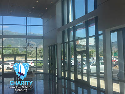 Commercial/ Business/ Office window cleaning Utah